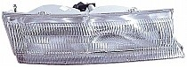 1995 - 1997 Mercury Mystique Front Headlight Assembly Replacement Housing / Lens / Cover - Right (Passenger)