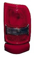 1994-2002 Dodge Ram Tail Light Rear Brake Lamp (with Sport Package / Red) - Left (Driver)