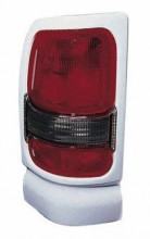 1994 - 2001 Dodge Ram Tail Light Rear Lamp (with Sport package + White) - Left (Driver)