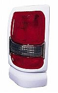 1994-2001 Dodge Ram Tail Light Rear Brake Lamp (with Sport package / White) - Left (Driver)