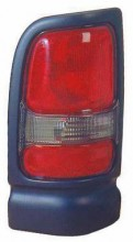 1994 - 2002 Dodge Ram Tail Light Rear Lamp (with Sport Package / Early Design / Black) - Right (Passenger)
