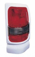 1994 - 2001 Dodge Ram Tail Light Rear Lamp (with Sport Package + White) - Right (Passenger)