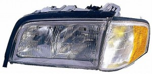1997-2000 Mercedes Benz C280 Headlight Assembly - Left (Driver)