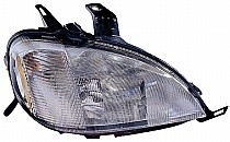 1998 - 2001 Mercedes Benz ML430 Front Headlight Assembly Replacement Housing / Lens / Cover - Right (Passenger)