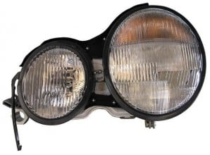 1996-1999 Mercedes Benz E320 Headlight Assembly - Left (Driver)