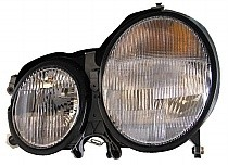 2003 Mercedes Benz E320 Front Headlight Assembly Replacement Housing / Lens / Cover - Left (Driver)