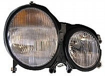 2000 - 2002 Mercedes Benz E430 Front Headlight Assembly Replacement Housing / Lens / Cover - Right (Passenger)