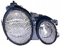 2003 Mercedes Benz CLK320 Front Headlight Assembly Replacement Housing / Lens / Cover - Right (Passenger)