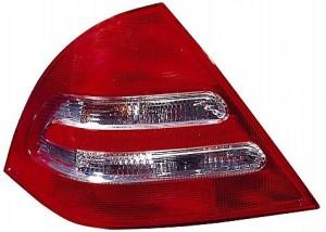 2001-2004 Mercedes Benz C230 Tail Light Rear Brake Lamp - Left (Driver)