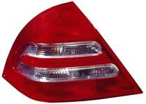 2001 - 2004 Mercedes Benz C320 Rear Tail Light Assembly Replacement / Lens / Cover - Left (Driver)