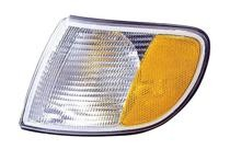 1995 - 1997 Audi A6 Parking + Signal Light Assembly Replacement / Lens Cover - Left (Driver)