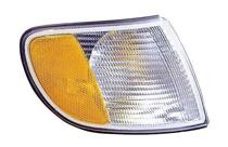1995 - 1997 Audi A6 Parking + Signal Light Assembly Replacement / Lens Cover - Right (Passenger)