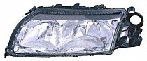 1999 - 2003 Volvo S80 Headlight Assembly (Halogen / without Integral Park Lamp Bulb) - Left (Driver)