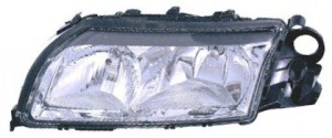 1999-2003 Volvo S80 Headlight Assembly (Halogen / without Integral Park Lamp Bulb) - Left (Driver)