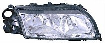 1999 - 2003 Volvo S80 Headlight Assembly (Halogen + without Integral Park Lamp Bulb) - Right (Passenger)