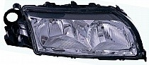 1999-2003 Volvo S80 Headlight Assembly (Halagen / with Integral Park Lamp Bulb) - Right (Passenger)