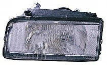 1993 - 1997 Volvo 850 Headlight Assembly (with Single Bulb Headlamps) - Left (Driver)