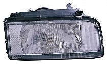 1993 - 1997 Volvo 850 Headlight Assembly (with Single Bulb Headlamps) - Right (Passenger)
