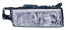 1995 - 1997 Volvo 960 Front Headlight Assembly Replacement Housing / Lens / Cover - Right (Passenger)
