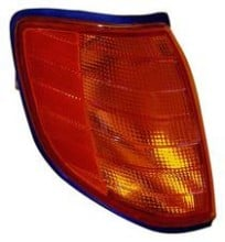 1994 Mercedes Benz S420 Parking + Signal Light Assembly Replacement / Lens Cover - Right (Passenger)