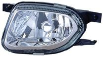 2004 - 2005 Mercedes Benz E500 Fog Light Assembly Replacement Housing / Lens / Cover - Left (Driver)