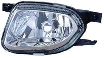 2003 - 2006 Mercedes Benz E500 Fog Light Assembly Replacement Housing / Lens / Cover - Left (Driver)