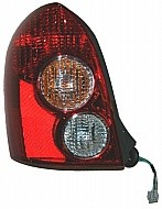 2002 - 2003 Mazda Protege Rear Tail Light Assembly Replacement / Lens / Cover - Left (Driver)