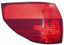 1998 - 1999 Toyota Tercel Rear Tail Light Assembly Replacement / Lens / Cover - Left (Driver)