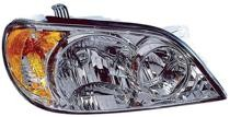 2002 - 2005 Kia Sedona Front Headlight Assembly Replacement Housing / Lens / Cover - Right (Passenger)