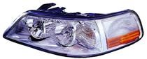 2003-2004 Lincoln Town Car Headlight Assembly (HID) - Left (Driver)