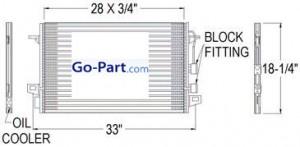 2003-2008 Infiniti FX35 A/C (AC) Condenser
