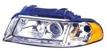 1999 - 2001 Audi A4 Headlight Assembly (from VIN X200001 + Halogen) - Left (Driver)