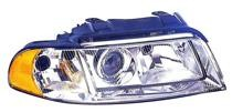 1999 - 2001 Audi A4 Headlight Assembly (from VIN X200001 + Halogen) - Right (Passenger)