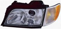 1996 - 1997 Audi A6 Headlight Assembly - Left (Driver)