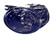 2002 - 2004 Audi A6 Fog Light Assembly Replacement Housing / Lens / Cover - Left (Driver)
