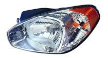 2007 Hyundai Accent Headlight Assembly - Left (Driver)