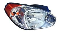 2007 Hyundai Accent Headlight Assembly - Right (Passenger)