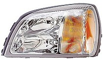 2000 - 2003 Cadillac Deville Headlight Assembly - Left (Driver)