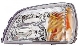 2003-2003 Cadillac Concours Headlight Assembly - Left (Driver)