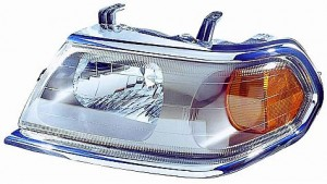 2000-2000 Mitsubishi Montero Sport Headlight Assembly - Left (Driver)
