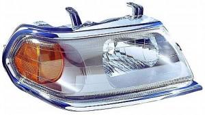 2000-2000 Mitsubishi Montero Sport Headlight Assembly - Right (Passenger)