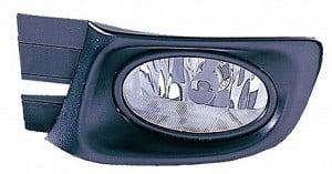 2003-2005 Honda Accord Fog Light Lamp (Pair, Driver & Passenger / Sedan)