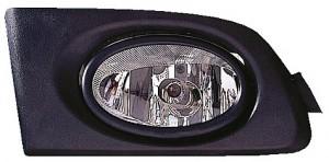 2003-2003 Honda Civic Fog Light Lamp (Pair, Driver & Passenger)