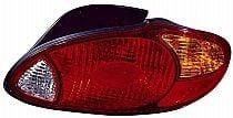 1999-2000 Hyundai Elantra Tail Light Rear Brake Lamp - Right (Passenger)