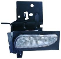 1996 - 1998 Ford Mustang Fog Light Assembly Replacement Housing / Lens / Cover - Left (Driver)