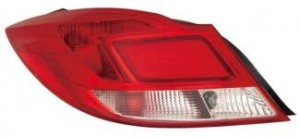 2011-2012 Buick Regal Tail Light Rear Lamp - Left (Driver)