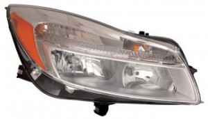 2011-2012 Buick Regal Headlight Assembly - Right (Passenger)