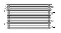2003-2004 Dodge Stratus A/C (AC) Condenser