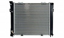 1993 - 1997 Jeep Grand Cherokee Radiator (4.0L L6 + Slot Mount Fan Shroud)