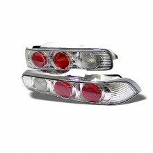1994-2001 Acura Integra 2Dr Euro Style Tail Lights (PAIR) - Chrome (Spyder Auto)